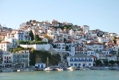 Skopelos island, Greece Royalty Free Stock Photo