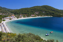 Skopelos island in Greece Royalty Free Stock Image