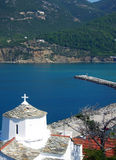 Skopelos island, Greece Royalty Free Stock Photos