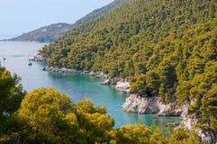 Skopelos Island Royalty Free Stock Images
