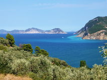 Skopelos-outlook on the sea Stock Photography