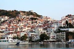 Skopelos, Sporades grego Imagens de Stock