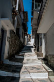 Skopelos street Stock Photography