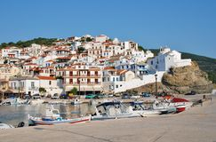 Skopelos Town, Greece Royalty Free Stock Photo