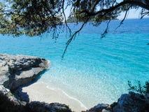 Skopelos wyspy plaża Fotografia Royalty Free
