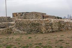 Skopje-Festung Kohlfestung in der alten Stadt, die Republik Mazedonien lizenzfreie stockbilder