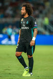 REAL MADRID V MANCHESTER UNITED: UEFA SUPER CUP Stock Photo