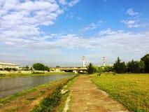 Skopje krajobrazy 001 Zdjęcia Royalty Free