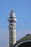 Skopje kyrkligt torn Royaltyfri Fotografi
