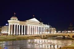 Skopje, Macedônia foto de stock