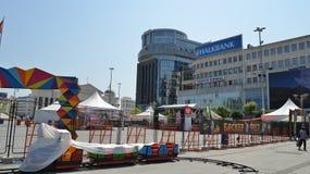 Skopje, Macedonia fotos de archivo