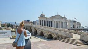Skopje, Macedonia lizenzfreies stockbild