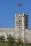 SKOPJE, MACEDONIA - APRIL 15: Kale Fortress is a historic fortre Stock Photos