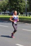 Skopje-Marathon 2016 Stockbild