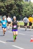 Skopje-Marathon 2016 Stockbilder