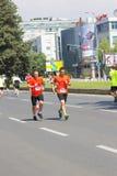 Skopje-Marathon 2016 Stockfoto