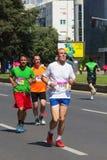 Skopje-Marathon 2016 Lizenzfreie Stockbilder