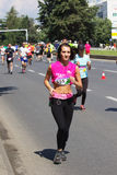 Skopje-Marathon 2016 Stockfotografie