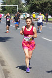 Skopje-Marathon 2016 Stockfotos