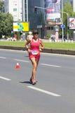 Skopje-Marathon 2016 Lizenzfreie Stockfotos