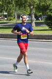 Skopje-Marathon 2017 Lizenzfreies Stockfoto