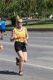 Skopje-Marathon 2017 Lizenzfreies Stockbild