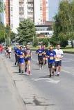 Skopje-Marathon 2017 Lizenzfreie Stockfotografie