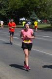 Skopje-Marathon 2017 Stockbilder