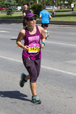 Skopje-Marathon 2017 Stockfotos