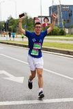 Skopje Marathon 2019 royalty free stock photo