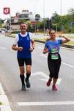 Skopje Marathon 2019 royalty free stock image