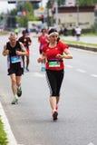 Skopje Marathon 2019 stock image