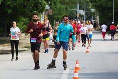 Skopje maraton 2018 Fotografia Royalty Free