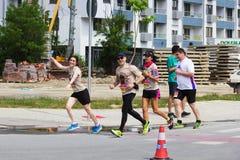 Skopje maraton 2018 Zdjęcie Stock