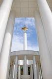 Skopje-Marksteine und -monumente lizenzfreie stockbilder