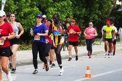 Skopje Marathon 2018 Stock Photos