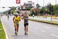Skopje Marathon 2019 stock images