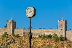 Skopje old clock Royalty Free Stock Image