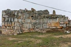 SKOPJE, RÉPUBLIQUE DE MACÉDOINE - 24 FÉVRIER 2018 : Forteresse de chou frisé de forteresse de Skopje dans la vieille ville Photo stock