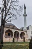 SKOPJE, RÉPUBLIQUE DE MACÉDOINE - 24 FÉVRIER 2018 : Mosquée dans la vieille ville de la ville de Skopje Photo libre de droits