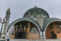 SKOPJE, RÉPUBLIQUE DE MACÉDOINE - 24 FÉVRIER 2018 : St Clement d'église d'Ohrid dans la ville de Skopje Image libre de droits