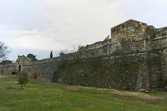 SKOPJE, REPUBBLICA MACEDONE - 24 FEBBRAIO 2018: Fortezza del cavolo della fortezza di Skopje in Città Vecchia Immagini Stock Libere da Diritti