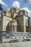 SKOPJE, REPUBLIEK VAN MACEDONIË - 13 MEI 2017: St Constantine en Elena Church in stad van Skopje Royalty-vrije Stock Afbeeldingen