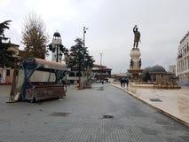 Skopje-Stadtansicht stockbilder