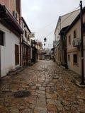 Skopje-Stadtansicht lizenzfreie stockfotos