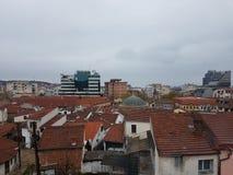 Skopje-Stadtansicht lizenzfreies stockfoto