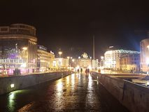 Skopje-Stadtansicht stockfotografie