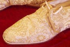 Skor antikviteten royaltyfri foto