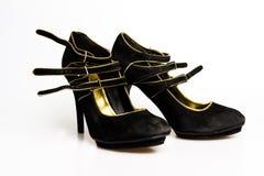 Skor för hög häl Royaltyfria Bilder
