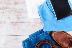 Skor för livsstil för kläder för man` s sänker lekmanna- Royaltyfri Fotografi